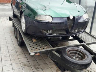 second-hand Alfa Romeo 147 1.9 JTD turbo defect functionala completa