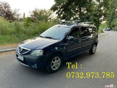 second-hand Dacia Logan MCV + GPL - 7 Locuri - 1.6 Benzina - Full Option
