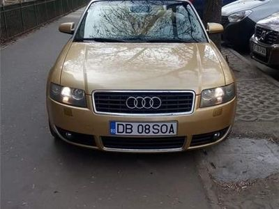 second-hand Audi Cabriolet