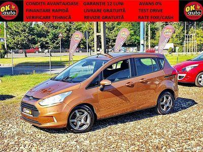 second-hand Ford B-MAX - EURO 5 - 2013/2014 - GARANTIE 12 LUNI - TEST DRIVE - CASH / RATE FIXE CU AVANS 0%.