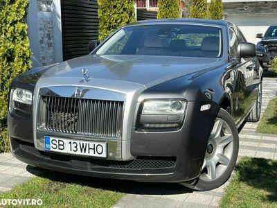 second-hand Rolls Royce Ghost EWB