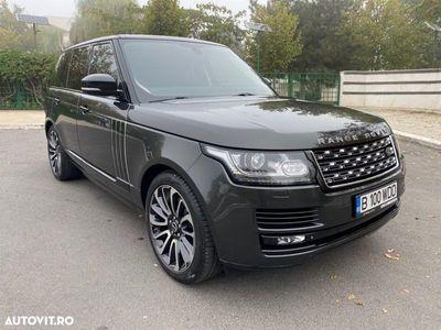 second-hand Land Rover Range Rover Vogue