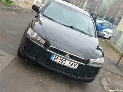 second-hand Mitsubishi Lancer X 1.5 benzina +GPL