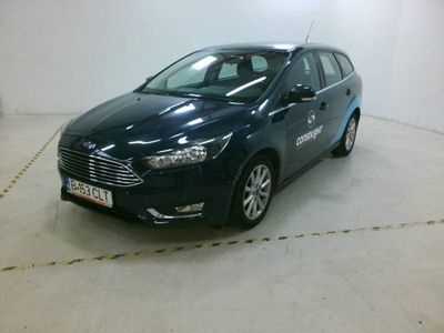 second-hand Ford Focus 1.5TDCI 120CP Titanium