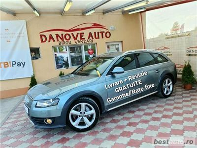 second-hand Audi A4 Allroad Revizie+Livrare GRATUITE, Garantie, RATE FIXE, 2000 benzina, 211CP, Euro 5