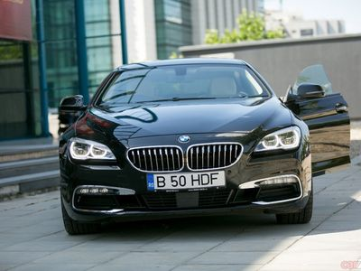 second-hand BMW 640 Numai 35.000 Km ! 400 cai putere, 300 Km/h