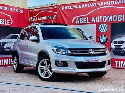 second-hand VW Tiguan R-Line An 2014/10 Euro 5 4x4 LED Panoramic