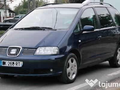 second-hand Seat Alhambra (Sharan, Galaxy) 7 locuri, 1.9 TDI Diesel, an