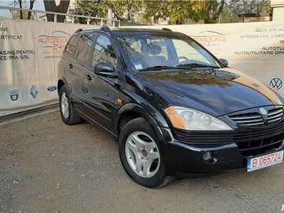 second-hand Ssangyong Kyron 2.0XDI SUV 4x4 posibilitate rate fara avans