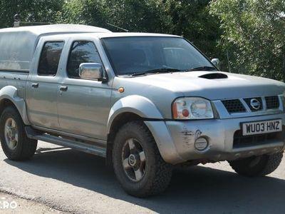 brugt Nissan Navara 4x4, 2.5 Diesel, an 2003