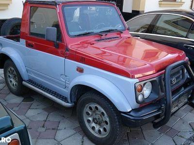 second-hand Suzuki Samurai 4x4 Cabrio - an 1998, 1.3 (Benzina)