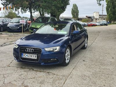 second-hand Audi A5 2.0 diesel,navi,2013,bi-xenon,euro 5,finantare rate