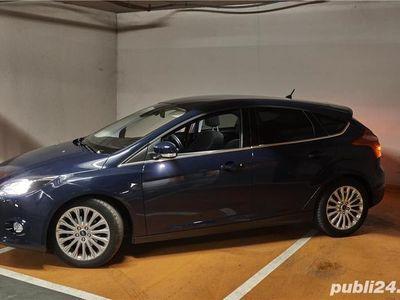 second-hand Ford Focus Titanium, 125CP, 2014, 75000 km, unic proprietar