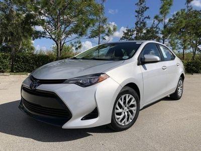 second-hand Toyota Corolla 2017