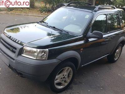 second-hand Land Rover Freelander 2001