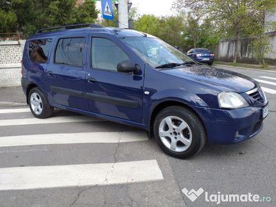 used Dacia Logan MCV 1.5 dci i rosu 85 cp