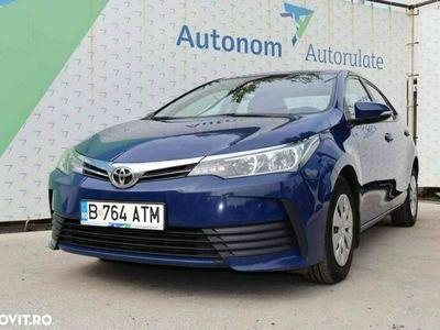 second-hand Toyota Corolla Dual VVT-i 2018 1.4 Benzină 99 CP Manuală, 81.356 km, Sedan