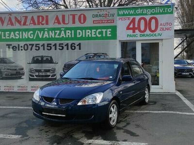 second-hand Mitsubishi Lancer 1.6Benzina,2004,Finantare Rate