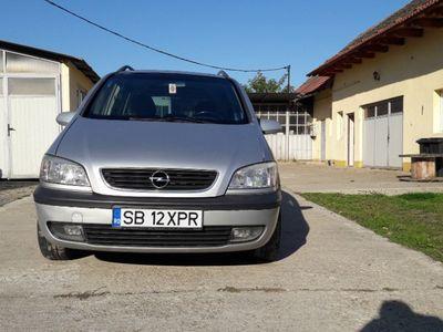 second-hand Opel Zafira a 2001 1,6 benzina ,euro 4,pers. fizica