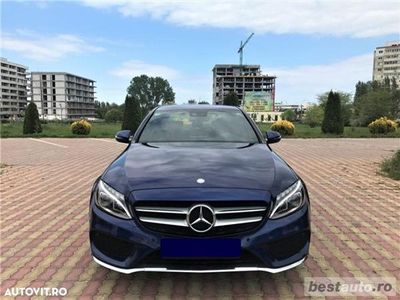 """second-hand Mercedes 170 C 220d """"AMG"""" / 2.2 CDiCP / Full Led / Piele Perforata / DayLight Neon."""