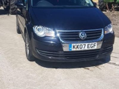 used VW Touran 2.0 140CP