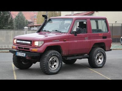 second-hand Toyota Land Cruiser 4x4 LJ 70 OFF ROAD, 2.4 TD diesel, an 19