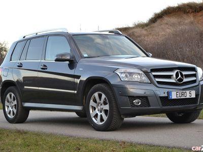 second-hand Mercedes GLK220 CDI * Panorama * Navi * Piele bej * 4x4 *