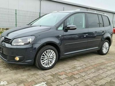second-hand VW Touran 2.0 TDi 140 Cp 2015 Euro 5 Model CUP