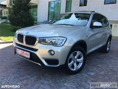 second-hand BMW X3 XDrive // 2.0d 190 CP // Trapa Panoramica // Navigatie Mare 3D // Keyless Go+Entry.