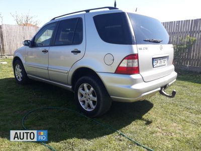second-hand Mercedes ML270 diesel