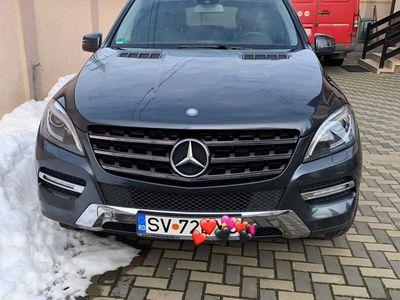 second-hand Mercedes ML250 Bluetec