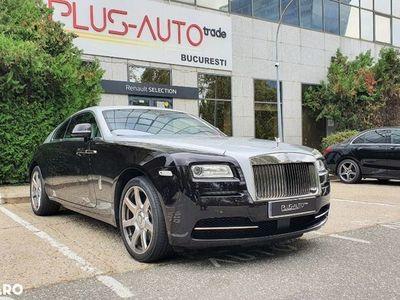 second-hand Rolls Royce Wraith