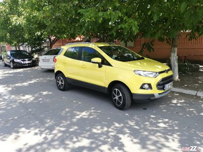 second-hand Ford Ecosport 74.000 km accept unele variante auto