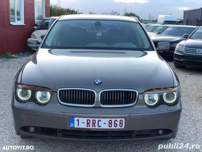 second-hand BMW 735L i 3.5 benzina 272cp an 2004.