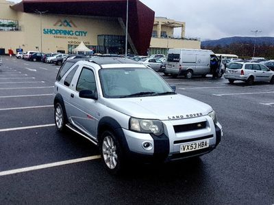 second-hand Land Rover Freelander 2.5 automat, Facelift, piele, navi