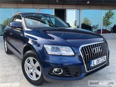 second-hand Audi Q5 Quattro // 2.0 TDi 190 CP // Navigatie Mare 3D // Scaune Încălzite // Faruri Led // Euro 6.