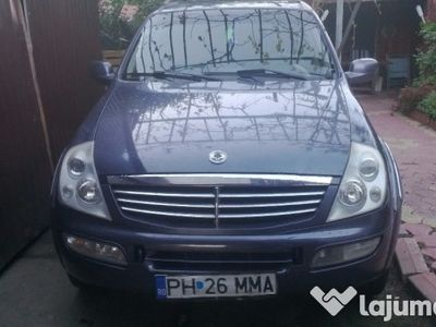 second-hand Ssangyong Rexton 2,7 cdi ,schimb pajero 3,2 did