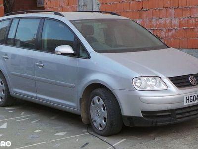 second-hand VW Touran 7 locuri, 1.9 TDI Diesel, an 2004