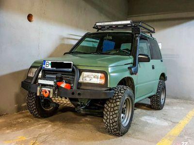 second-hand Suzuki Vitara 1.6 8V benzina 80cp 1998 modificat pt offroad