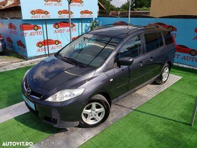 used Mazda 5 an 2007, navigatie mare, senzori parcare, 7 locuri