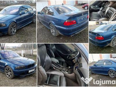 second-hand BMW 330 e46 ci manual 2001 pachet M volan pe stanga