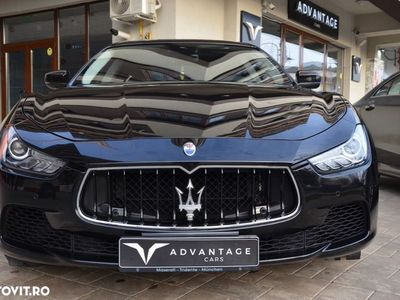 second-hand Maserati Ghibli