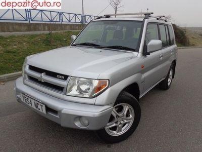 brugt Mitsubishi Pajero Pinin 2004