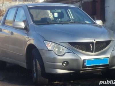 second-hand Ssangyong Actyon Sports SUV pick-up 4x4