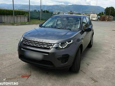 second-hand Land Rover Discovery Sport