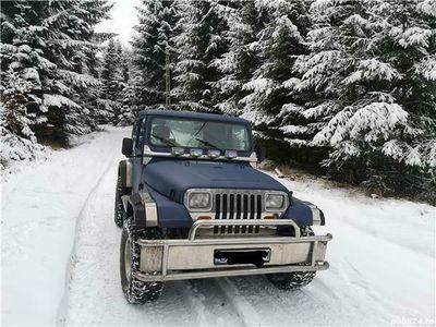 second-hand Jeep Wrangler yj