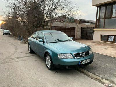 second-hand Audi A6 inmatriculat ro 1.9TDI 115Cp stare perfecta 08.2002 FULL