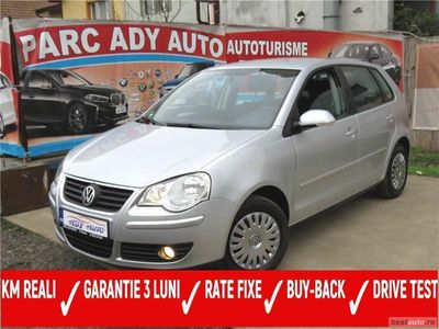 second-hand VW Polo 1,4 BENZINA = 80 CP = AN 2009 = RATE FIXE = BUY BACK = TEST DRIVE = GARANTIE 3 LUNI