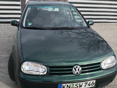 second-hand VW Golf IV benzină 1.6 16V an 2001 Euro 4