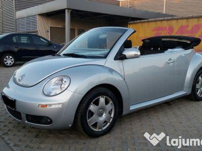 second-hand VW Beetle 1.6 benzina facelift cabrio 2006